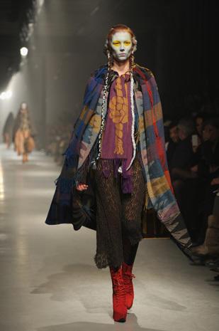 Punk stylist Vivienne Westwood