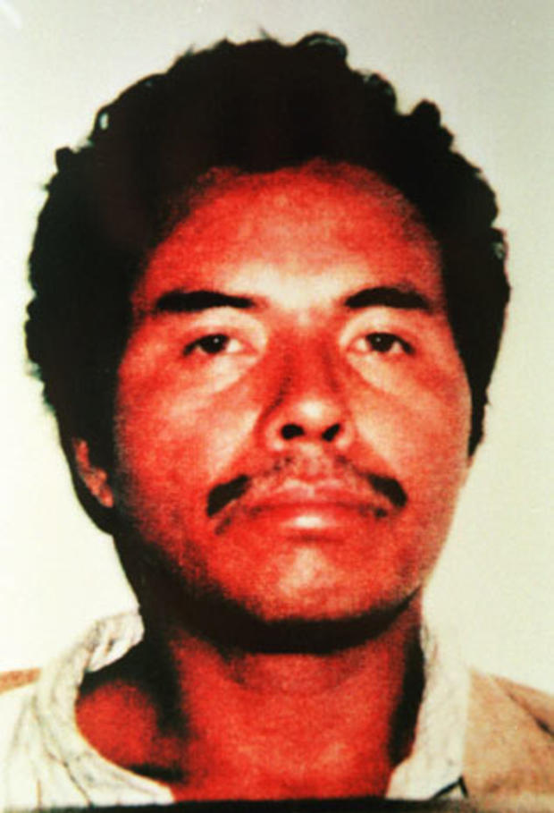 """Angel Maturino Resendiz, nicknamed """"The Railroad Killer,"""" instilled panic and fear in railroad towns across the United States in the late 1990s. At the time of his arrest, Resendiz was suspected in nine slayings near railroad tracks in Texas, Kentucky and"""