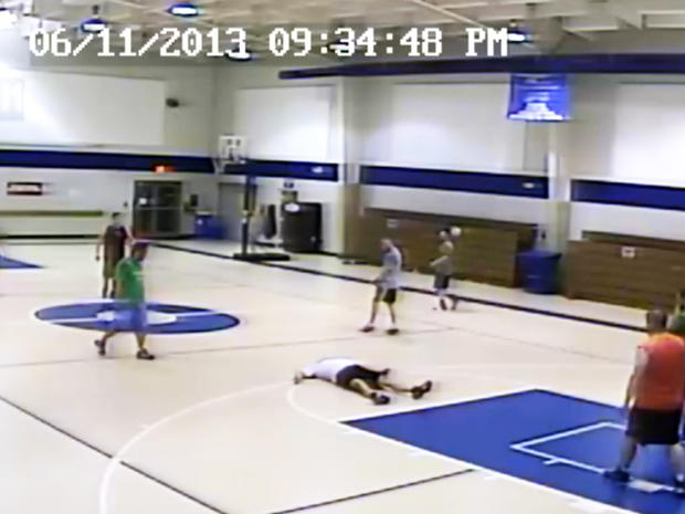 Tony Gilliard collapsed on the basketball court and went into cardiac arrest.