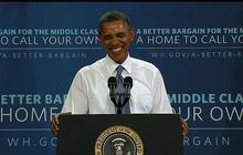 Obama gets birthday serenade at Phoenix high school