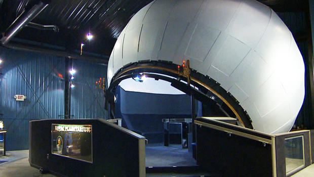 When we first met Frank Kovac, business at his planetarium was far from stellar; now he says it's taking off like a rocket.