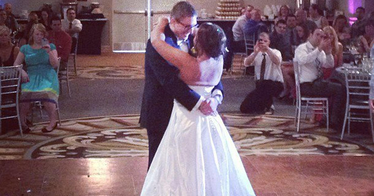 Paralyzed Ohio Woman Walks Down Aisle On Wedding Day