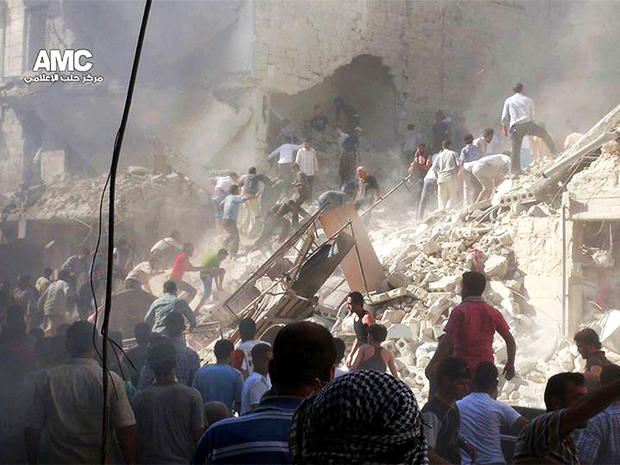 Syria, aleppo, bomb