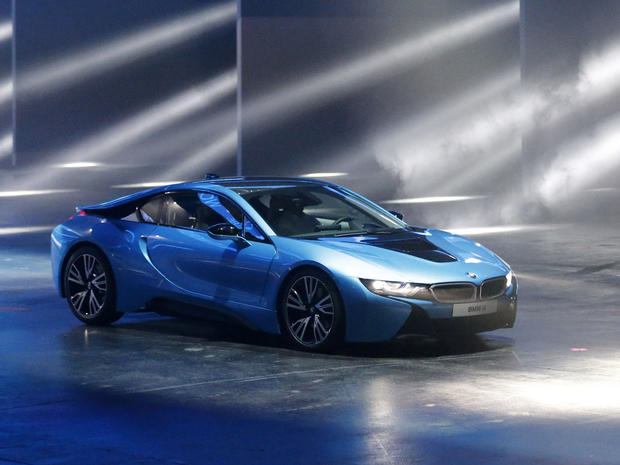 Bmw I8 Hot Wheels At The Frankfurt Auto Show Pictures Cbs News