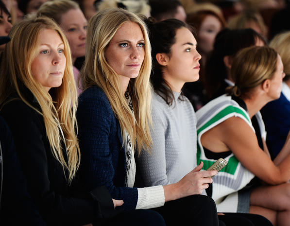 Stars at London Fashion Week