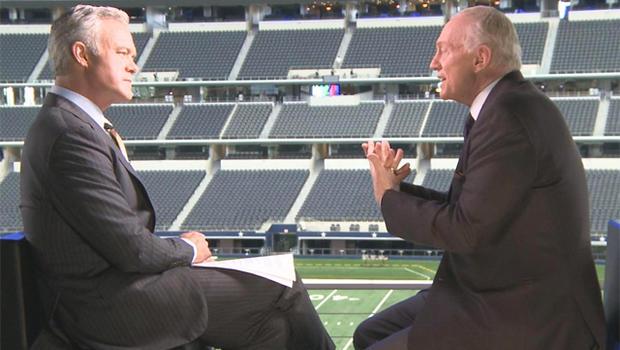 Scott Pelley spoke with Dallas Cowboys owner Jerry Jones.