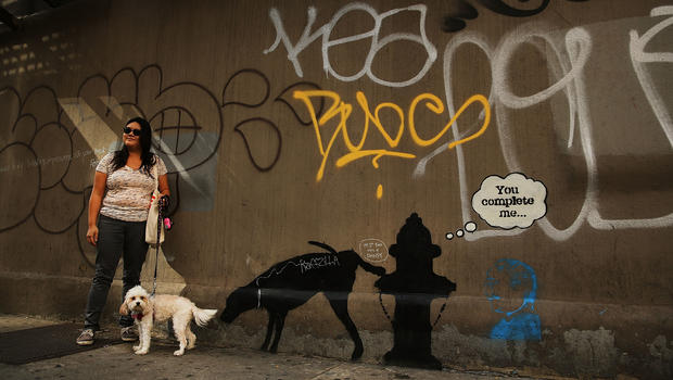 Banksy hits the Big Apple
