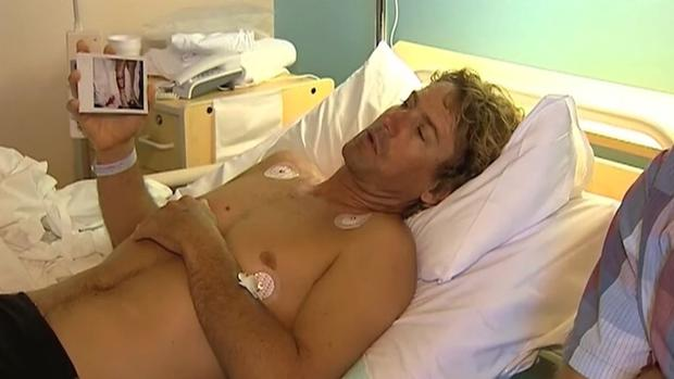Australian bitten by sharks twice in nine years