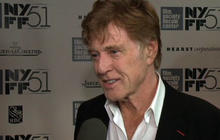 "Robert Redford talks silent role in ""All Is Lost"""