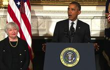 Obama announces Yellen's nomination for Fed chair