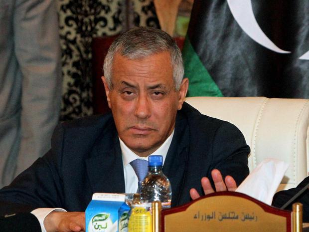 Libyan Prime Minister Ali Zeidan