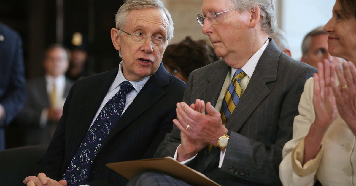 All Eyes On Senate To End Shutdown Raise Debt Limit CBS