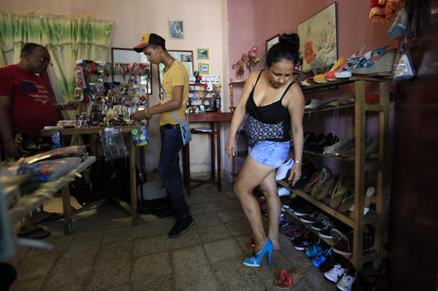 Cuba's small businesses threatened