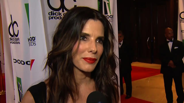 Sandra Bullock honored at Hollywood Film Awards