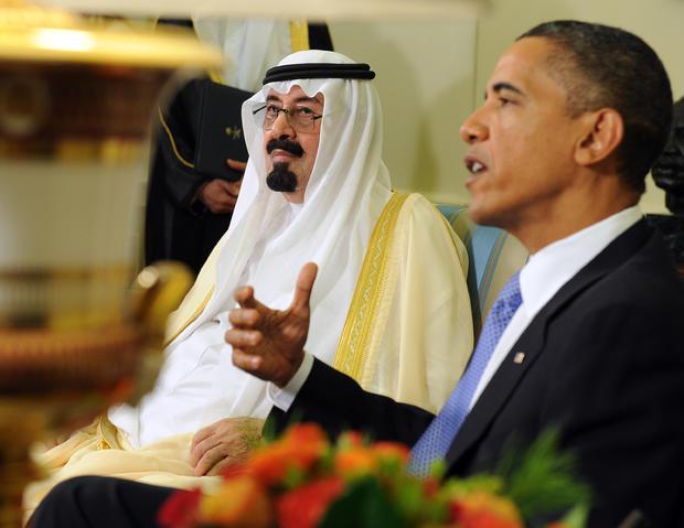 President Obama and Saudi Arabian King Abdullah