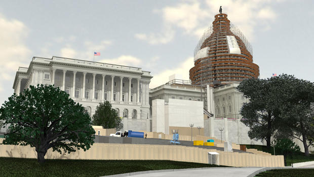 Damaged Capitol dome to get overhaul