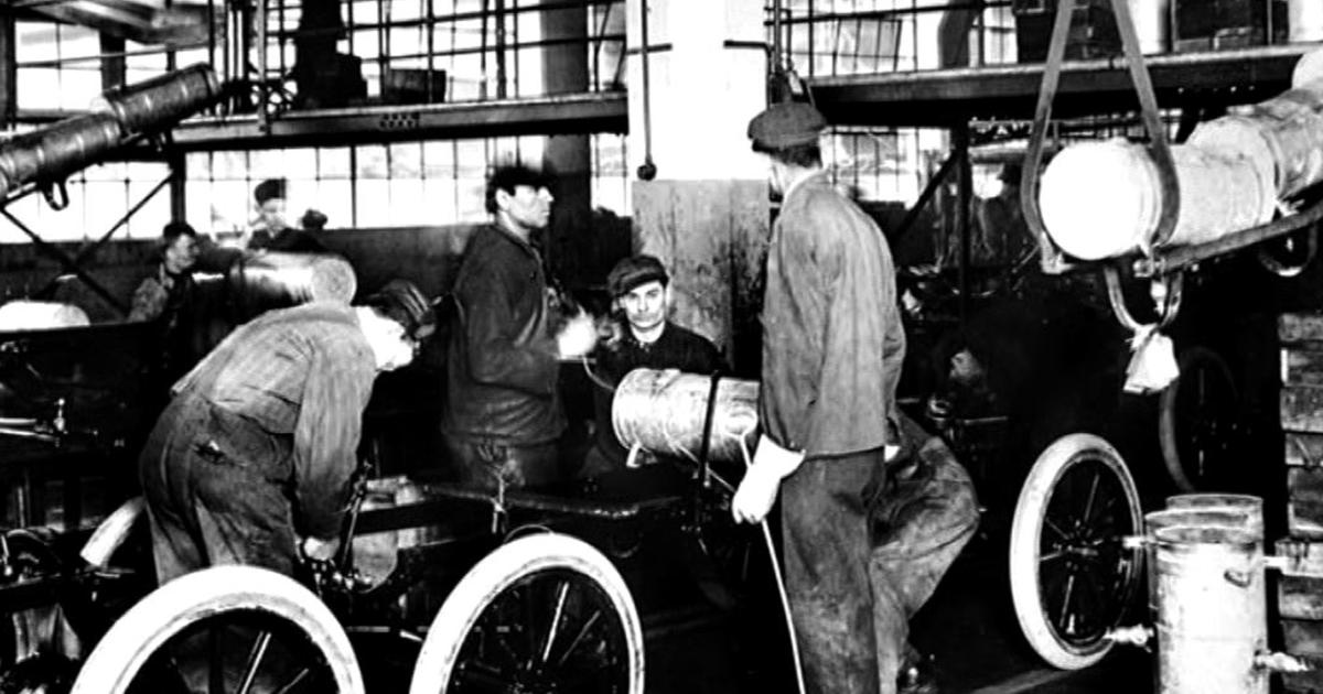 Henry Fords Assembly Line How Its Still Rolling Along 100 Years Later