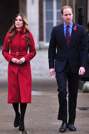 Prince William and Kate's London Poppy Day
