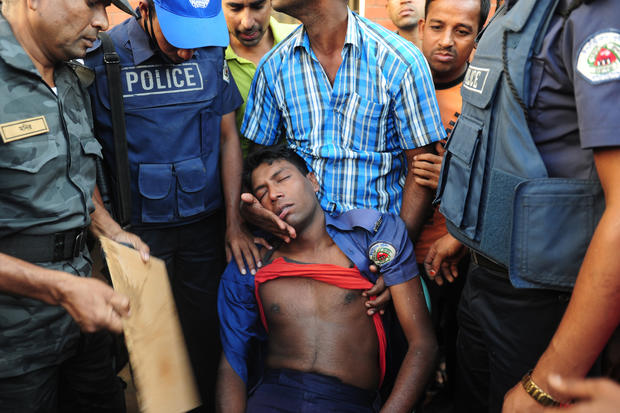 Bangladesh garment worker protest turns violent