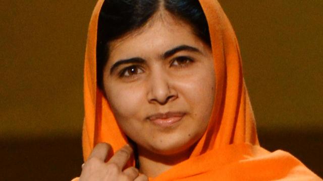 Pakistani activist Malala Yousafzai