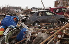 Illinois town devastated by tornado