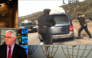 Can N.M. police justify their use of firearms for a traffic stop?