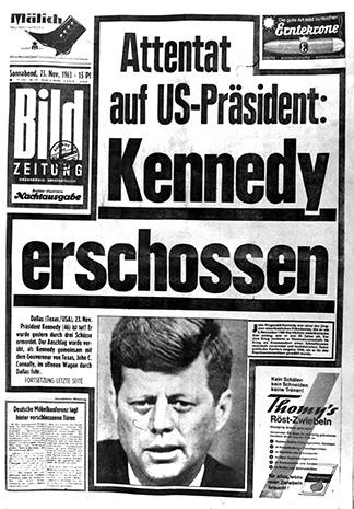 JFK assassination: World reaction