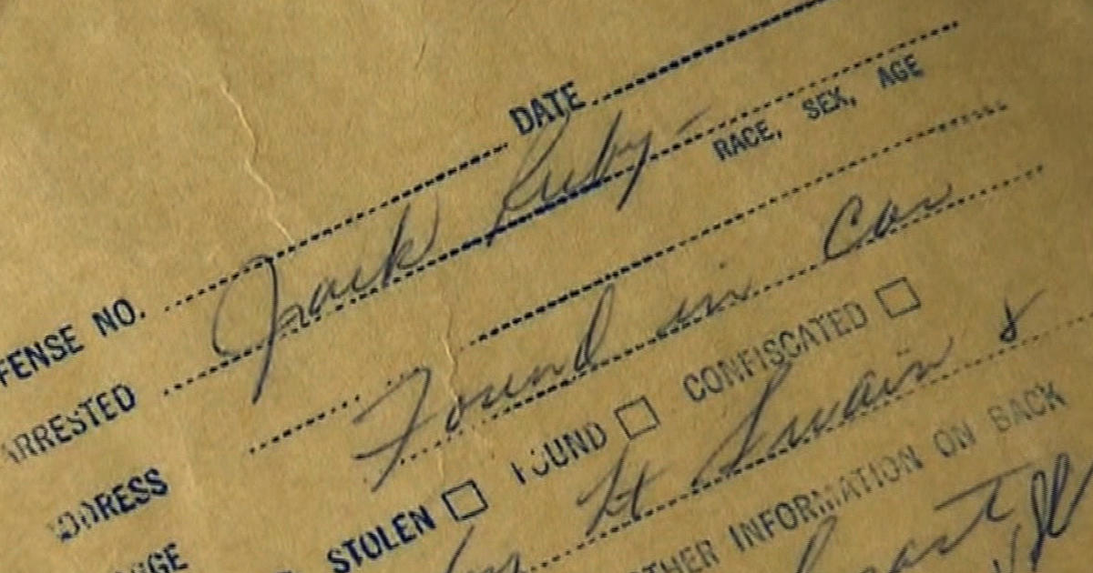 Jack Ruby Files Revealed For First Time In Nearly 50 Years Cbs News