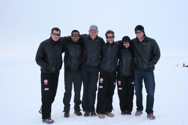 Walking with the Wounded in Antarctica