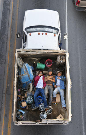 Mexico's commute from above