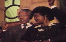 1990: Nelson Mandela released from prison