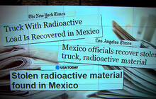 Stolen truck with radioactive material recovered in Mexico