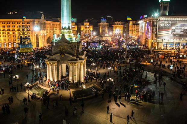 Euro Maiden Ukraine protest