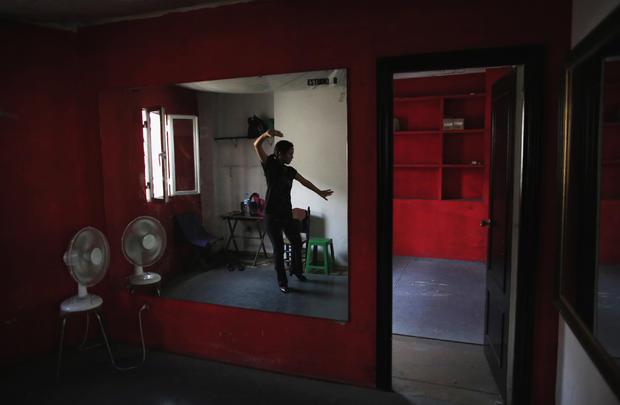 Japanese Flamenco dancer