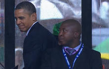 Obama security scrutinized following Mandela memorial signer revelations