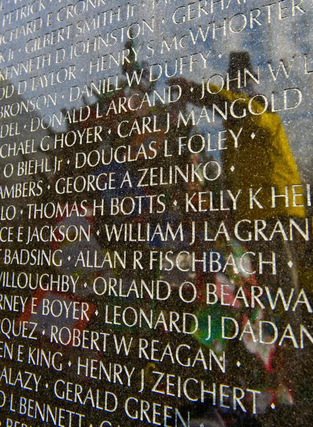 Vietnam memorial Christmas