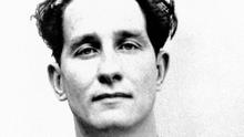 Ronnie Biggs, known for his role in the 1963 Great Train Robbery, is seen July 8, 1963.
