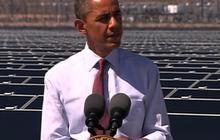 Obama blasts politicians who dismiss alternative energy