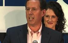 "Santorum second in IL; ""happy about"" delegates won"