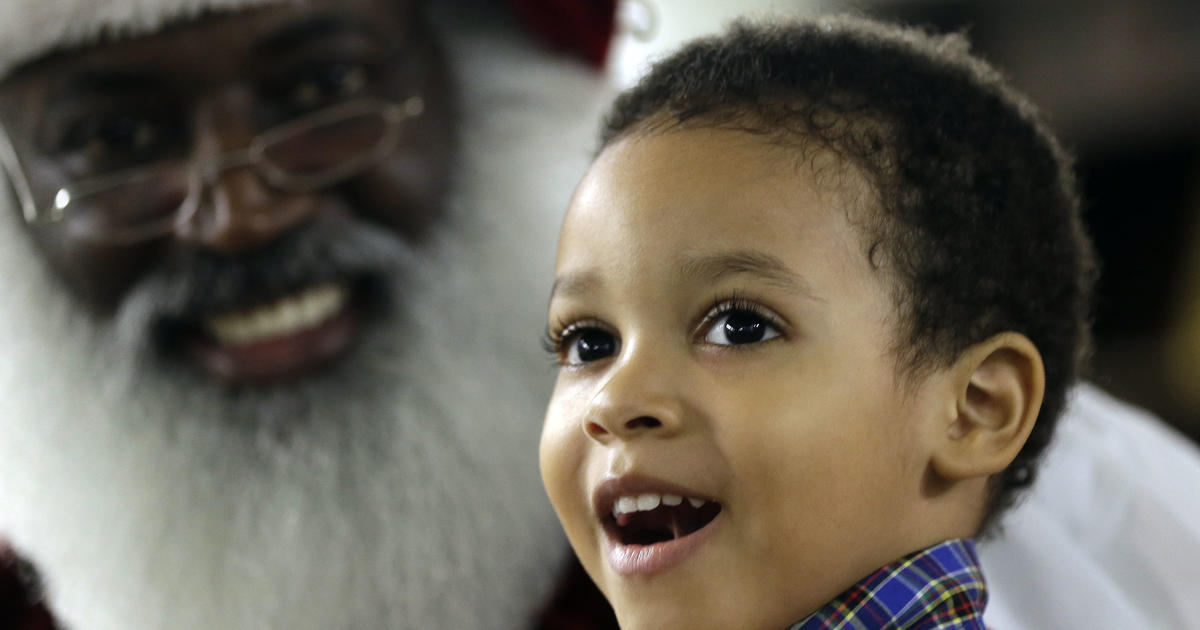 Can't find a black Santa? There's an app for that