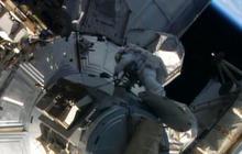 Spacewalk to repair International Space Station underway