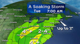 Will weather impact your Christmas Eve commute?