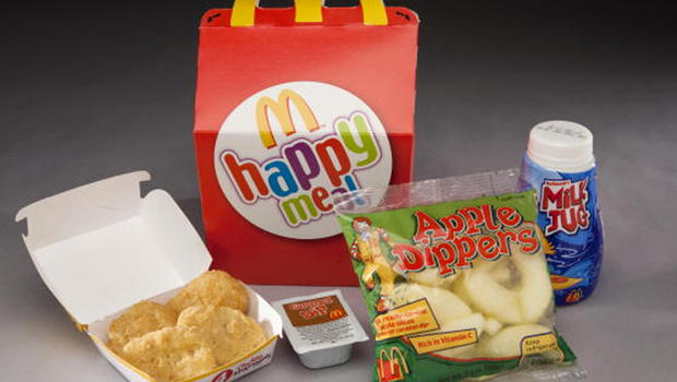 did mcdonald s happy meal changes lead kids to eat better cbs news