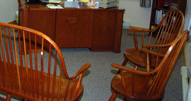 In the pastor's office, slumped over the desk, was the body of parishioner Joe Musante -- dead from an apparent self-inflicted gunshot wound to the head.