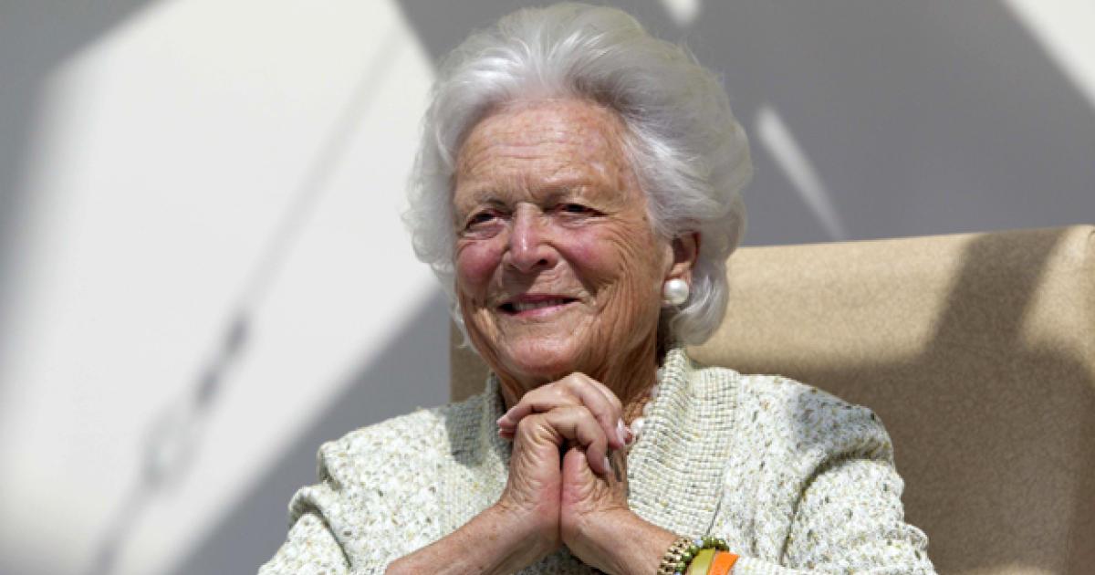 Former first lady Barbara Bush in failing health, won't seek additional treatment