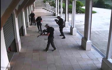 A military-style raid on Kim Dotcom's compound