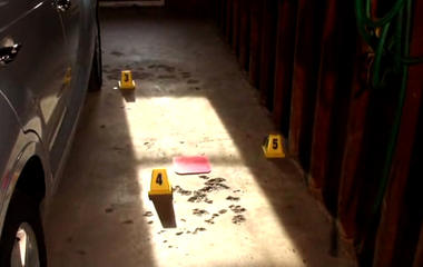 Trail of clues found in parsonage garage