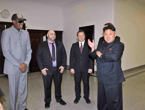 Dennis Rodman is back in North Korea