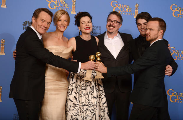 Golden Globes 2014: Behind the scenes