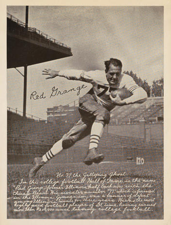 Vintage football cards